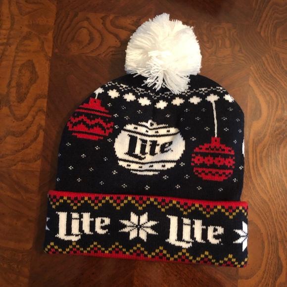 7da9a363508f3 Miller Lite Winter Hat. M 5c478848c9bf50e518877905. Other Accessories ...